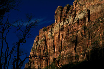 Zion Canyon at Sunrise, Zion Nation Park, UT
