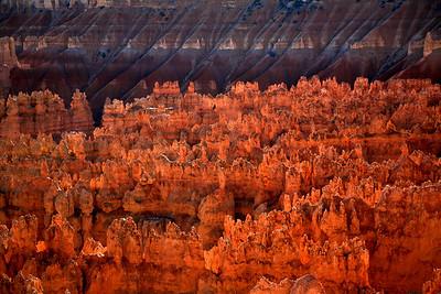 HooDoos Afternoon Glow, Bryce National Park, UT