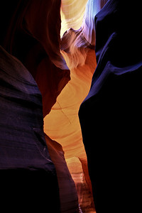 Ghost in Slot Canyon in Northern AZ