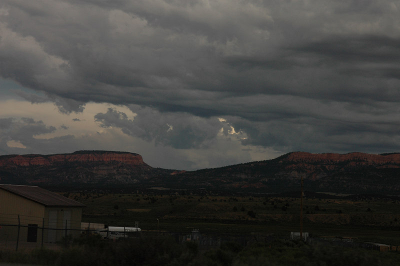 Red Canyon State Park<br /> Thunderstorms