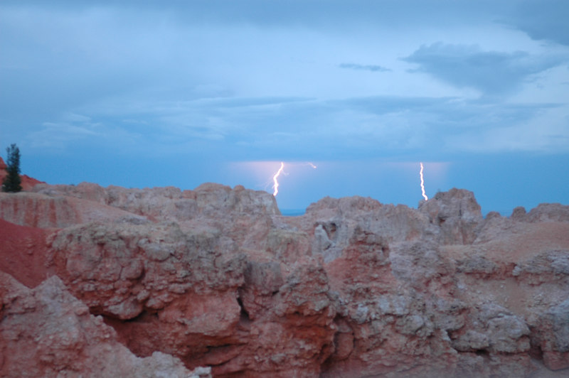 Bryce Canyon National Park<br /> Thunderstorms at Natural Bridges<br /> Contributed by Mug