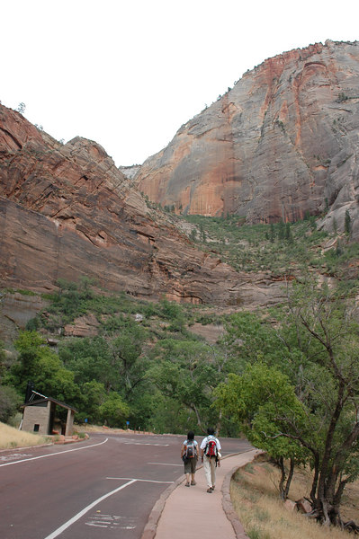 Zion National Park <br /> Weeping Rock Trail