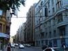Street next to University