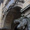 Tor mit Löwenkopf