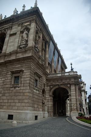 Opera House of Budapest.