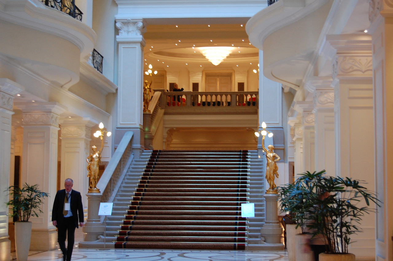 Corinthia Hotel Lobby