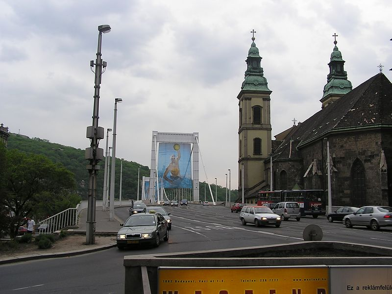 Church of the Inner Town and Elisabeth Bridge