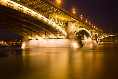 Margrit Bridge, Budapest, Hungary