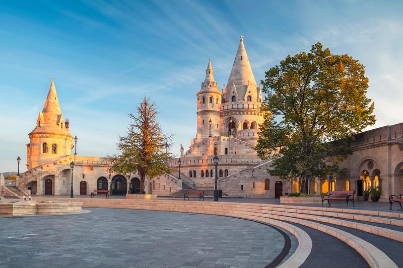 Fisherman's Bastion, Budapest.