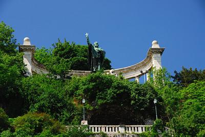 Monument to Bishop Gellert, Patron Saint of Budapest