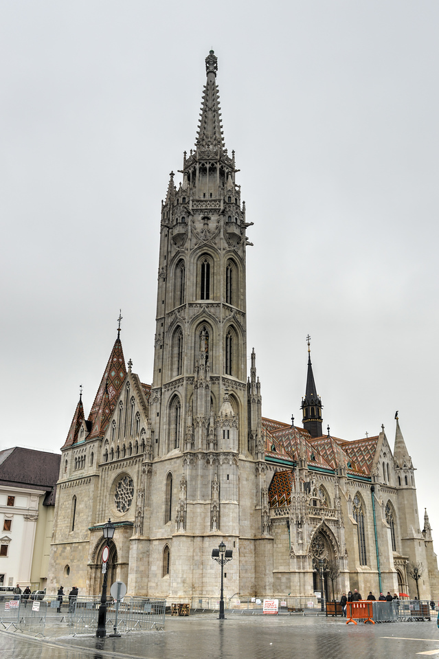 Matthias Church, Buda Castle - Budapest, Hungary