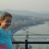 Budapest - My Niece posing for the camera