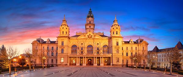 Gyor, Hungary.