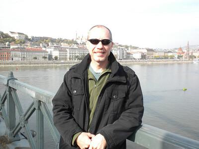On the bridge between Buda and Pest