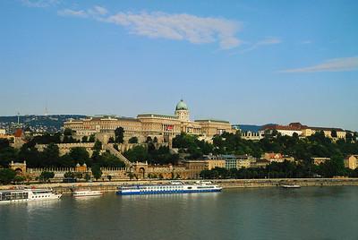 Buda Castle on the Danube