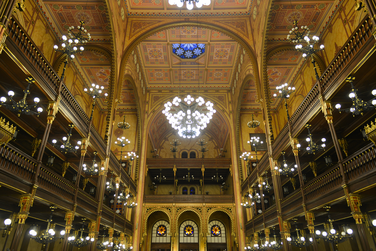 Great Synagogue in Budapest, Hungary