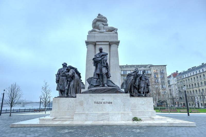 Istvan Tisza Statue - Budapest, Hungary