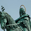 Budapest- King Stephen Equestrian Monument (First King of Hungary)
