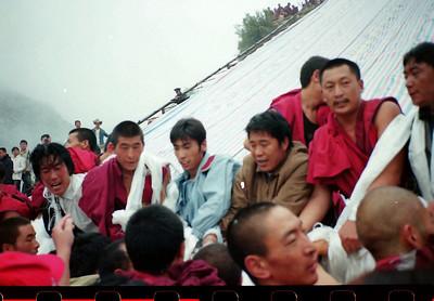 西藏之旅底片翻拍