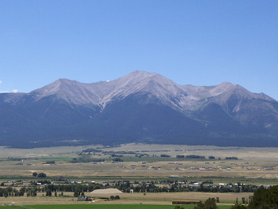 2007 - views of the Buena Vista area - I believe this is Mt. Princeton