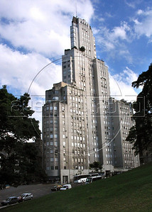 Kavanagh building in San Martin place, Buenos Aires, Argentina, December 23, 2005. (Austral Foto/Renzo Gostoli)