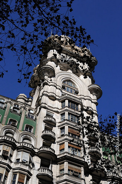 Barolo Building in Avenida de Mayo