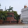 San Martin statue