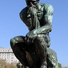 The Thinker - a Rodin signed copy