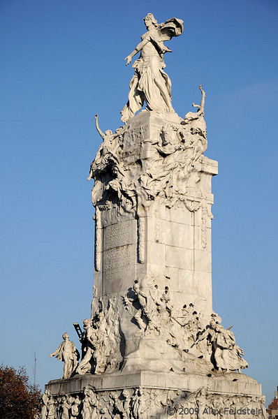 Spanish monument<br /> Palermo