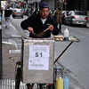 Street vendor downtown