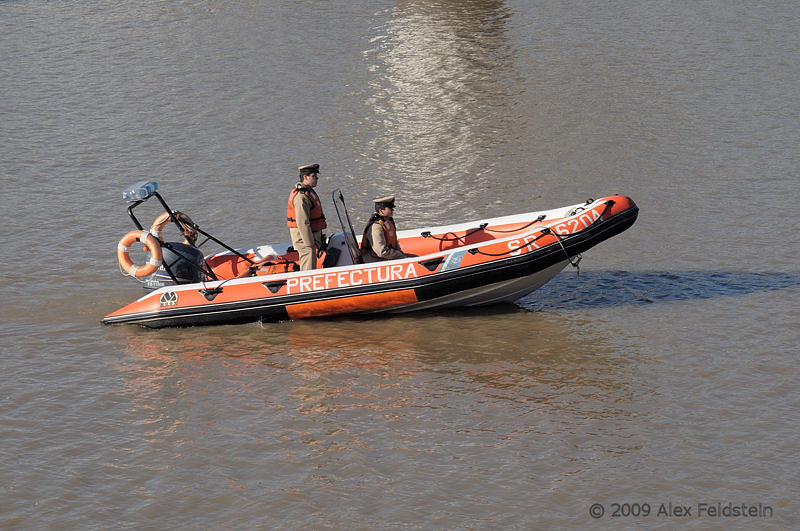 Prefectura (Coast Guard)  atPuerto Madero