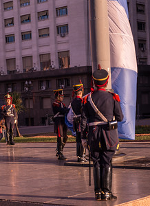 Change of Guard, Buenos Aires, Argentina