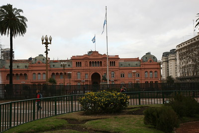 Government Building - Also where Evita gave her famous speech Casa Rosada