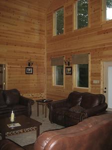 Inside Lodge main floor.