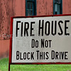 Firehouse Sign 4x6