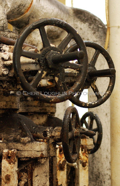 Rusted Wheels 11x17