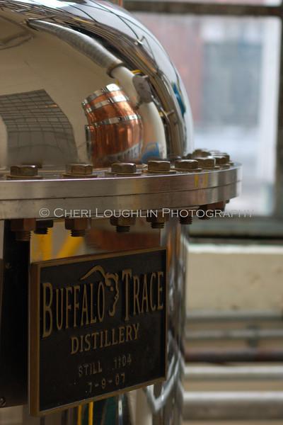 Micro-Still Buffalo Trace Distillery Still 1104 4x6