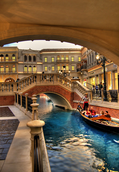 Gondola Ride at The Venetian, Las Vegas, Nevada