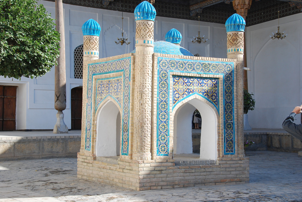 The tomb of Bakhouddin Nakshbandi who was a founder of Sufism.