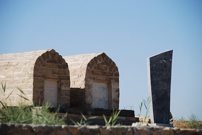 Graveyard outside the Bakhouddin Nakshbandi mosque