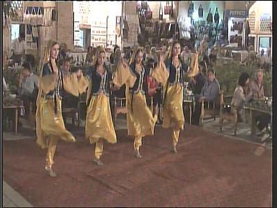 The Bukhorcha Ensemble performing at the Nadir Divanbegi Madrassa.