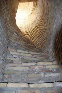 Staircase inside Chor Bakr