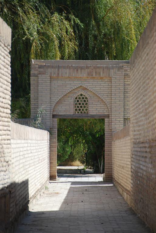 The gardens at Chor Bakr.