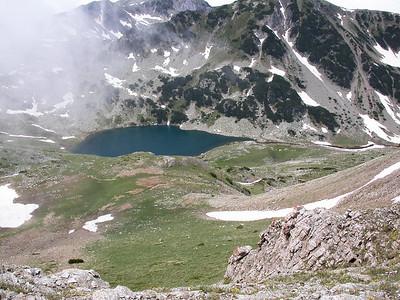 Glacial pool.