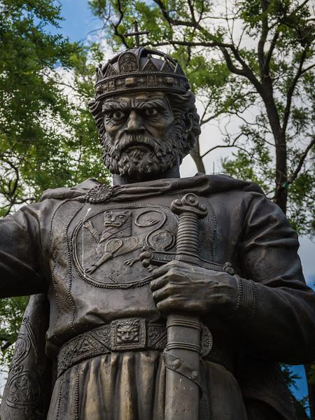 Monument of Tsar Samuil (Ruled 997-1014)