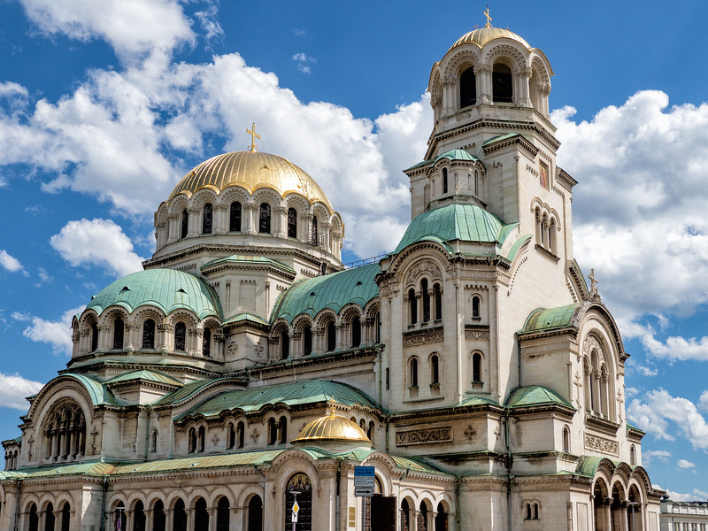 Sofia, Alexander Nevski Cathedral 1882-1924