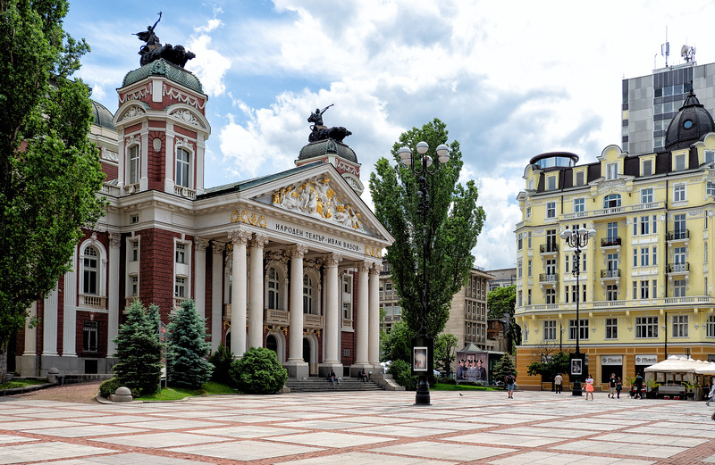 National Theatre (1907), Sofia