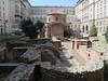 The ruins of Roman-era Serdica in the heart of Sofia, a major city in late Roman times.