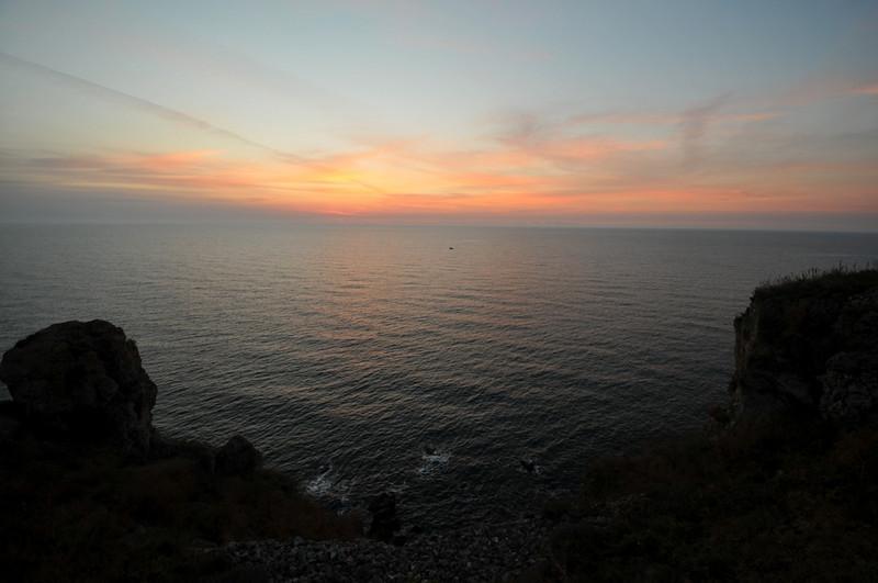 Sunrise at Kaliakra