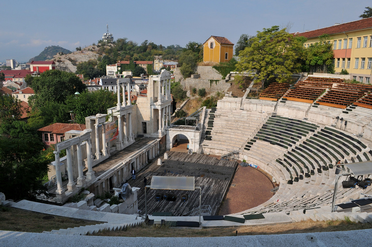 Plovdiv - the second largest city in Bulgaira